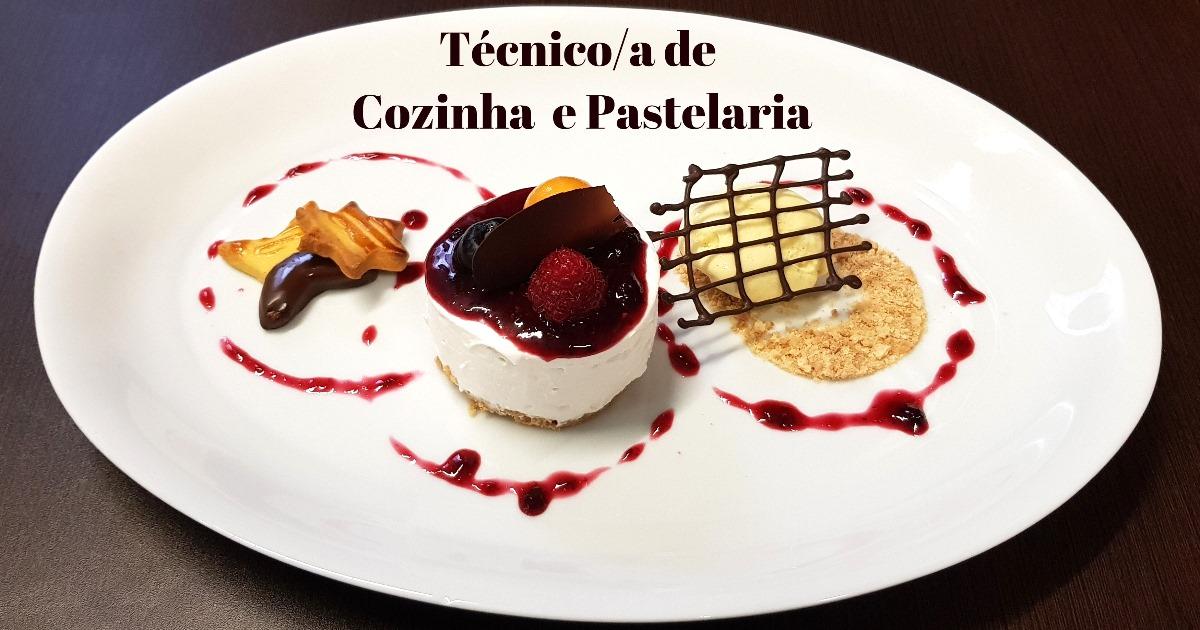 Novos Cursos de Cozinha e Pastelaria 100% financiados